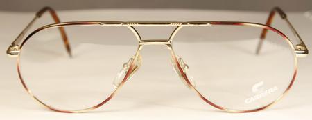 Aviator style prescription glasses for a square face shape